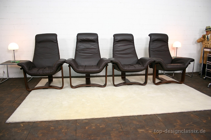 neuwertig westnofa lounge easy chair ingmar relling. Black Bedroom Furniture Sets. Home Design Ideas