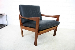 illum wikkelso danish easy lounge chair by nils eilersen top designclassix. Black Bedroom Furniture Sets. Home Design Ideas