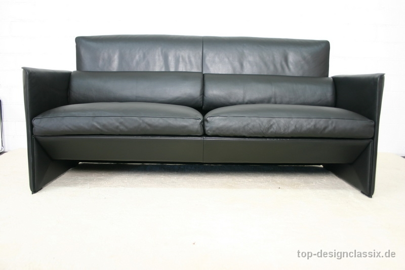 top de sede lounge sofa design in leder schwarz neuwertiger zustand ebay. Black Bedroom Furniture Sets. Home Design Ideas
