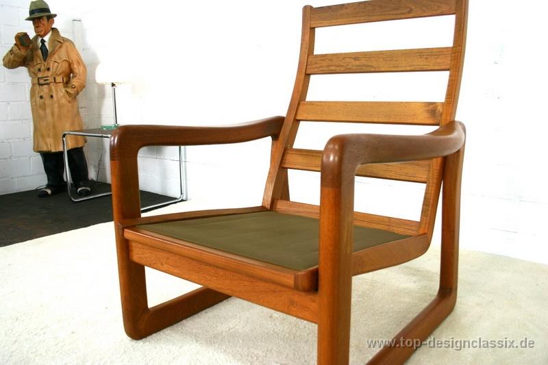 13130530001holstrebo Teak Easy Chair Highback