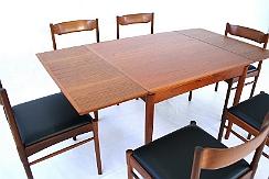 poul hundevad danish dining table mid century top designclassix. Black Bedroom Furniture Sets. Home Design Ideas