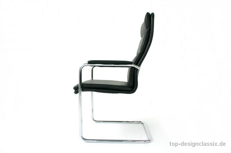 Walter Knoll Bauhaus Softpad Cantilver Chair Freischwinger Top