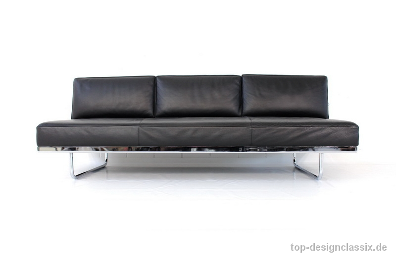 Cassina Le Corbusier LC5 Lounge Daybed / Sofa | Leder und Chrom ...
