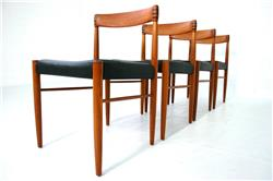 H.W. Klein Danish Teak Dining Chair by Bramin Denmark