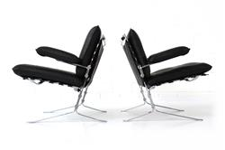 """Joker"" Lounge Chairs by Oliver Mourgue for Airborne"