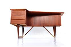 "Peter Løvig Nielsen ""Boomerang"" Writing Desk"