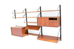 Poul Cadovius Royal Modular Shelf System in Teak